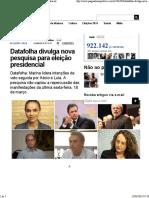 Datafolha divulga nova pesquisa para eleição presidencial.pdf