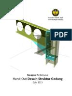 Hand-Out Desain Struktur Gedung Ed 2013