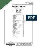 Manual Partes Motor Hidrolavadora 2700 Psi