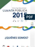 Cuenta Publica HCSBA 2015