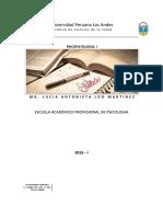 Sillabus Psicopatologia I 2016-I
