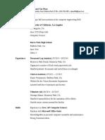 phan raymond - resume