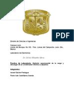 Reporte Del Condensador