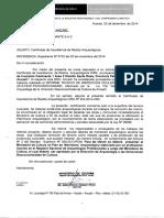 Informe CIRA para mina Caminante 1