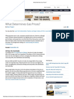 What Determines Gas Prices