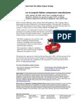 Atlas Copco Fiac Compressor