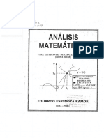 Analisis Matematico i Espinoza