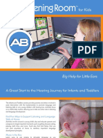 ab listening room for kids brochure recipient