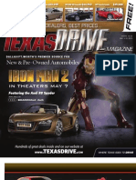 Texas Drive Magazine May 3-16, 2010 Issue