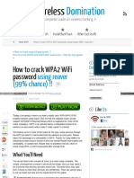 Www Wirelessdomination Com How to Crack Wifi Password Using