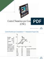 4.2 Programacion CNC - Interpolación Angulo Cota