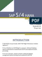SAP S 4HANA - Simple Logistics  pdf   Enterprise Resource