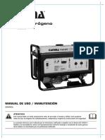 Manual GAMMA 7500E uso mantenimiento