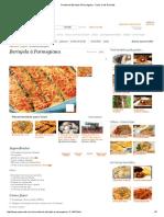Receita de Berinjela à Parmegiana - Cyber Cook Receitas