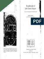 MORAN, D., The Philosophy of John Scottus Eriugena