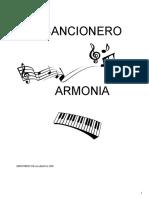 Cancionero Armonia ABRIL 2013