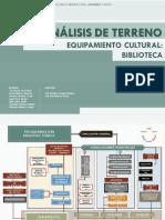 1. Programación Arquitectónica - Bilioteca