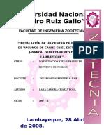 Vacunos de Engorde Jayancaproyecto de Charly Pool Lara Zamora
