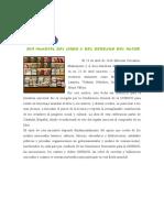 23 de ABRIL (2) - Día Mundial Del Libro y Del Derecho de Autor.