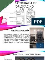 Cromatografía de Levofloxacino