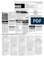 COURIER Classifieds 4-8-16
