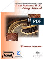 Ewpaa Structural Plywood and LVL Design Manual v1