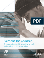 Unicef Innocenti Report Card 13