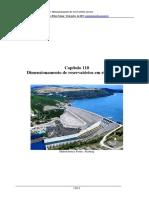 Capitulo110 - Dimensionamento de Reservatórios Em Rios