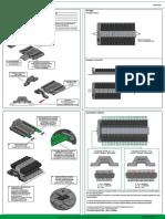 Hoja Instrucciones Serie 888 - Fijaciones Sistemas Seriales