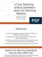 idaho core teaching standards