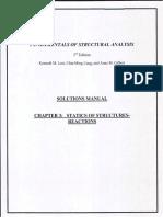 SOLUCIONARIO DE ANALISIS ESTRUCTURAL