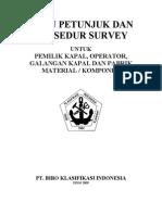 Buku Petunjuk Dan Prosedur Survey