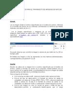 Comandos Basicos Para El Tratamiento de Imágenes en Matlab