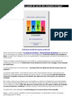 """Ebook gratuit """"Le guide de survie des enquêtes en ligne"""""""