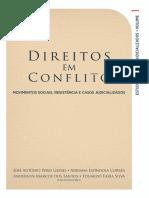 Direitos Em Conflito - Movimentos Sociais Resistencia e Casos Judicializados - Vol 1