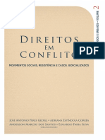 Direitos Em Conflito - Movimentos Sociais Resistencia e Casos Judicializados - Vol. 2
