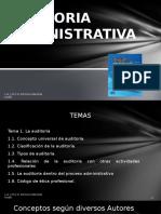 Clase 1 Auditoria Administrativa
