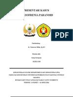 Kasus Skizofrenia Paranoid