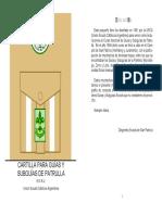 Cartilla Para Guías y Subguías de Patrulla (USCA)