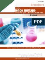 Biomedical Brochure 2016