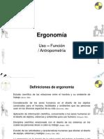 Ergonomía Uso Función Antropometría