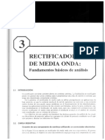 Rectificadores de Media Onda