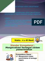 Bab II Sistem Pemerintahan 2