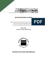 Helvijar Putra Utama (10070111134) Tugas Metode Pengambilan Sampel