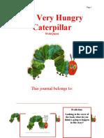 The Very Hungry Caterpillar WebQuest Journal