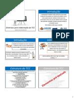 Diretrizes Para Elaboração Do TCC