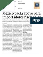 12 - 04 - 16 Méxicopactaapoyopara importadoresnacionales