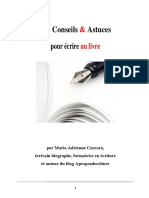 101 Conseils Et Astuces Pour Écrire Un Livre