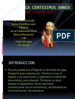 Encíclica Centesimus Annus