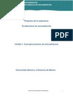 Unidad 1. Conceptos Basicos de Mercadotecnia_Contenido